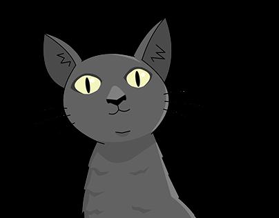 Cartoon Cat Project