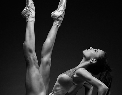 Ballerina (B&W)