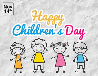 Children's Day Social media post