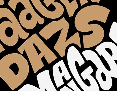 Lettering • Häagen-Dazs de Mangaba