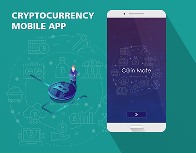 Crypto Mobile App UI/UX Design
