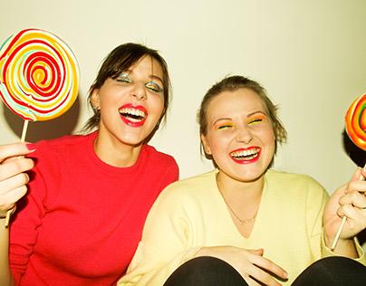 80's Lollypop Photoshoot