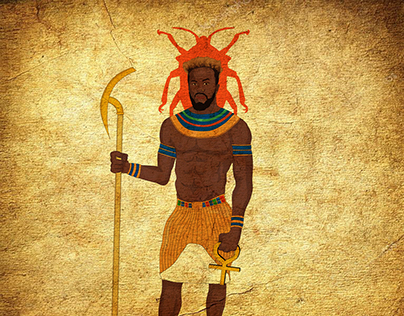 Black Khepri - Egypt God