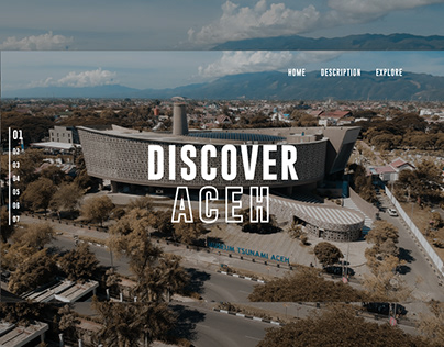 UI UX Discover Aceh Indonesian
