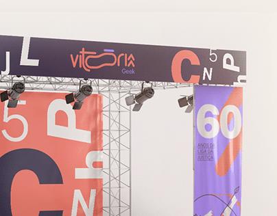 Vitória Geek | Id. Visual