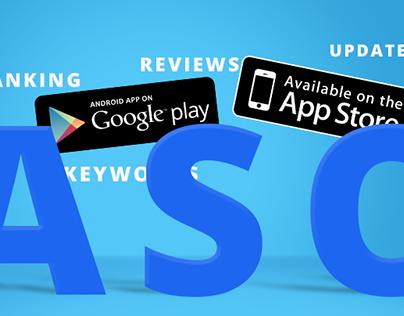 ASO: App Store Optimization (App store & google play)