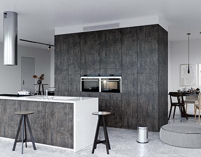 Carbonized Wood Impress