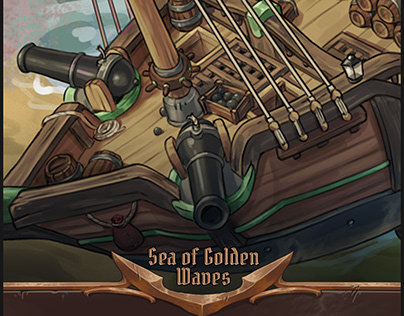 Sea of golden Waves I vehicle prop