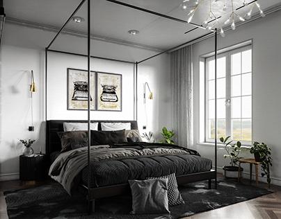 BEDROOM IN SWEDEN