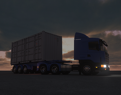 Truck / Trailer / Shipping Container