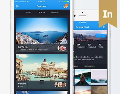 90Cities - iOS Travel UI Kit