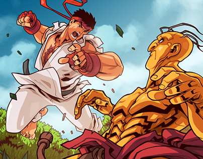 Street Fighter Unlimited #6 & #7