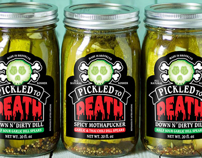 Pickled To Death Branding & Packaging