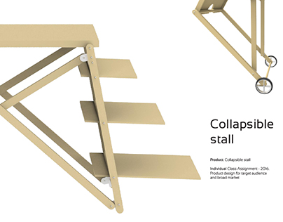Collapsible Stall