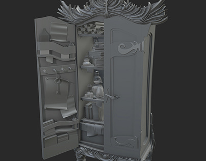 Alchemist Cabinet