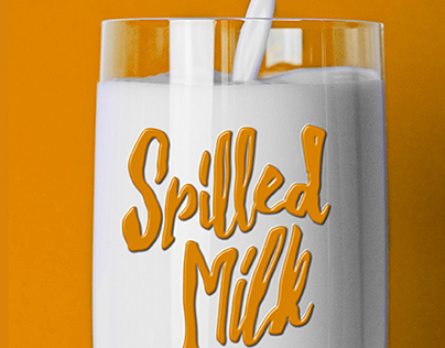 Spilled Milk: BOOK COVER
