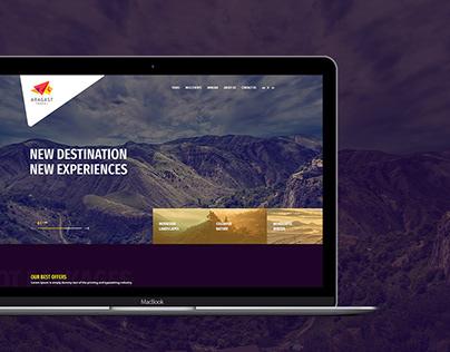 Aragast Tour Agency Website