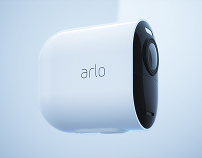Arlo Ultra Wireless Security Camera CG Animation
