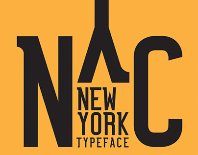 NYC - Typeface