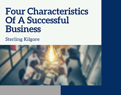 4 Characteristics Of A Successful Business
