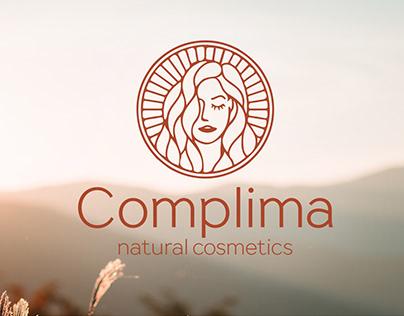 Natural cosmetics company logo