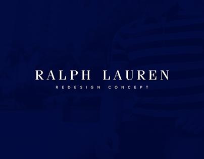 Ralph Lauren Redesign Concept