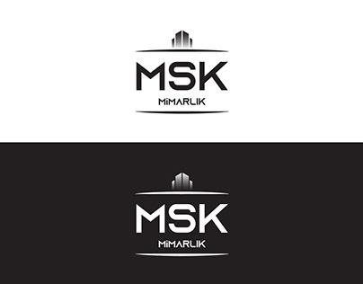 MSK Mimarlık Logo Çalışması