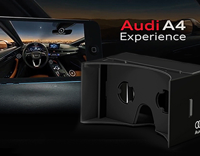 Glasses for Audi A4 Experience - AUDI