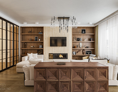 Interior rendering | Moscow
