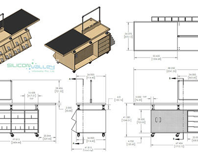 Millwork Drafting Services | Millwork Shop Drawing