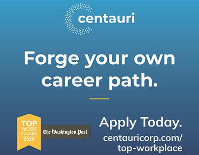 Centauri Top Workplace Campaign
