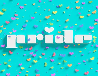 Pride – 3D Lettering