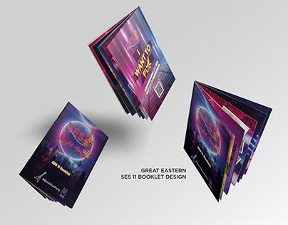 Great easternSES 11 booklet design