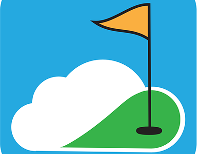Golf Score Cloud Mobile App icon
