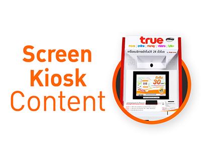 Kiosk TrueMoney : Screen Server