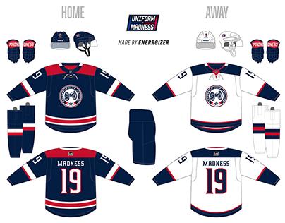Uniform Madness Tournament CBJ Home & Away Re-Design