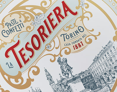La Tesoriera - Packaging