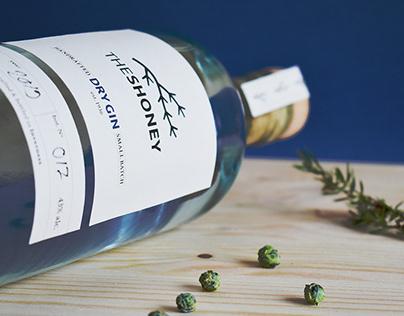 TheShoney | premium gin branding and packaging