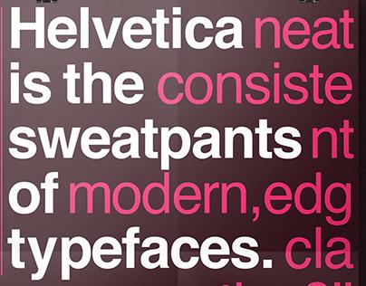 Helvetica Is