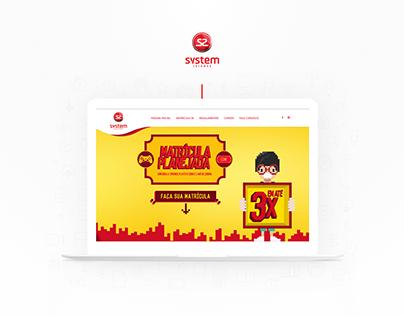 Yooh   Hotsite - Matrículas System