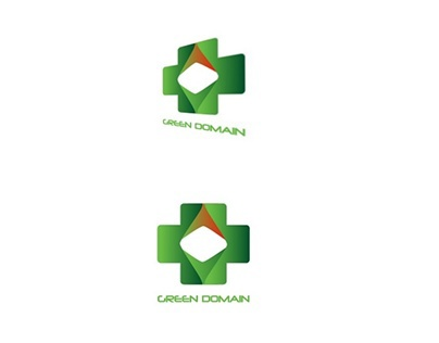 Green Domain Logo Idea