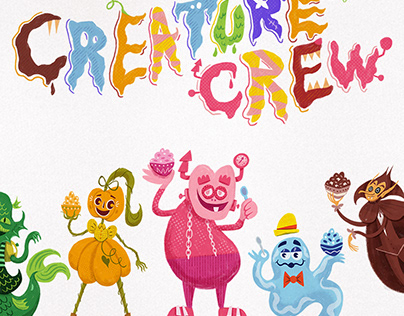Monster Cereal Mascots