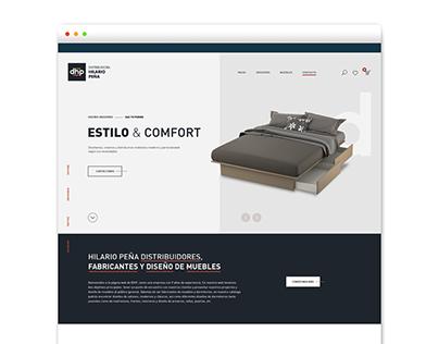 Website Hilario Peña