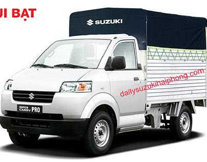 Xe tải Suzuki 7 tạ Hải Phòng thùng mui bạt