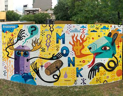 Second Flea market wall