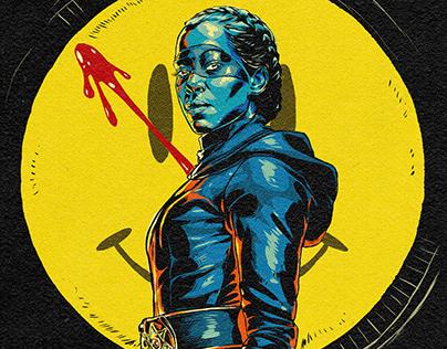 Watchmen 2019 Comic Poster