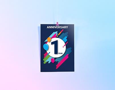 Anniversary at work