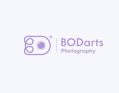 BODarts photography   logo 2 versions