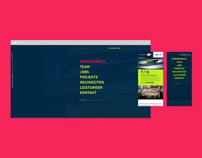WEBSITE RELAUNCH // H&P Bauingenieure