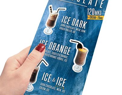 """Promo drinks flyer design - """"MIG 21 Cafe"""""""
